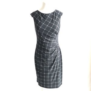 Lauren Ralph Lauren Black & White Dress 6